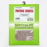 Metcalfe M0055 Paving stone thick card sheets x 8