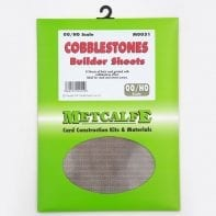 Metcalfe M0051 Cobblestone thick card sheets x 8