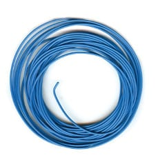 Peco PL-38B Electrical connecting wire in blue 7 metres
