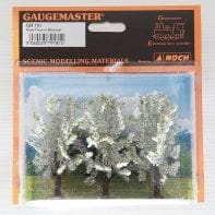 Gaugemaster GM181 Plum Trees In Blossom x 3 (N/OO Gauge