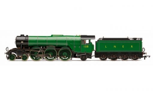"Hornby R3518 Class A3 4-6-2 108 ""Gay Crusader"" in LNER apple green - ""The Final Day"" special edition"