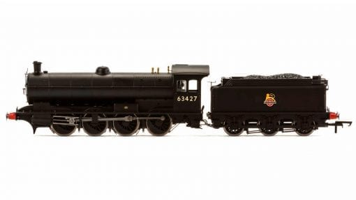 Hornby R3542 Class Q6 'Raven' 0-8-0 63427 in BR black with early emblem