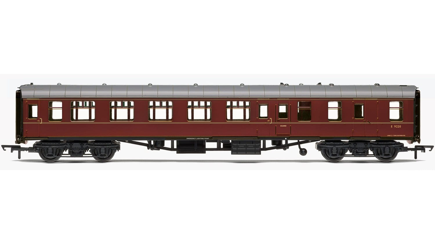 Hornby R4788 Mk1 BSO brake second open E9220 in BR maroon