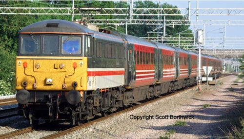 Oxford Rail OR763TO003 Mk3a TSO second open 12145 in Virgin Trains West Coast livery
